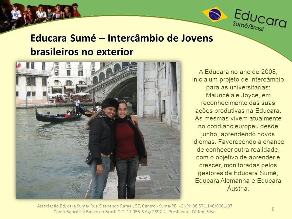 Educara Sumé – Intercâmbio de Jovens brasileiros no exterior