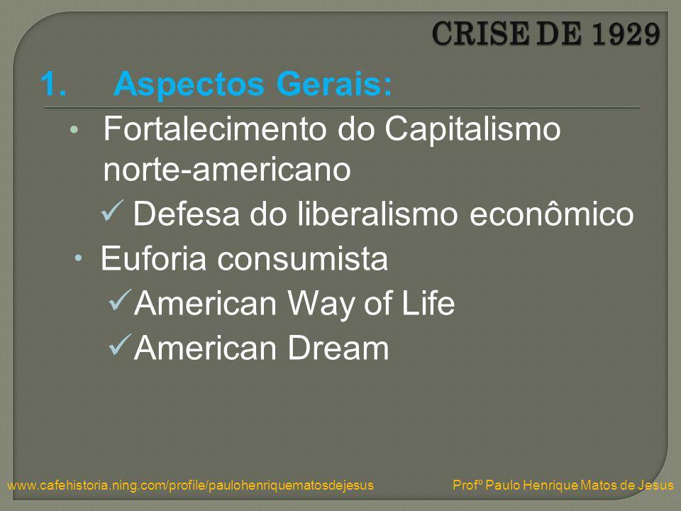 Fortalecimento do Capitalismo norte-americano