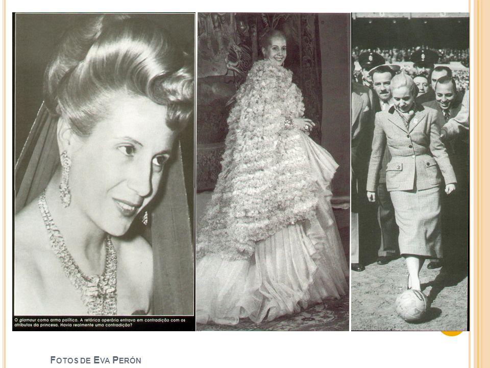 Fotos de Eva Perón