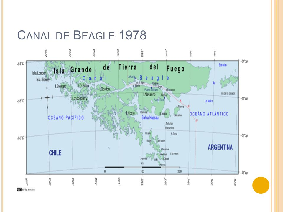 Canal de Beagle 1978