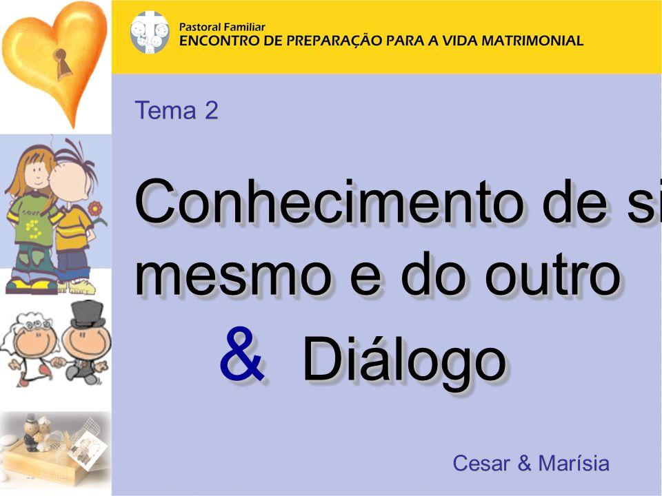 Tema 2 Conhecimento de si mesmo e do outro & Diálogo Cesar & Marísia