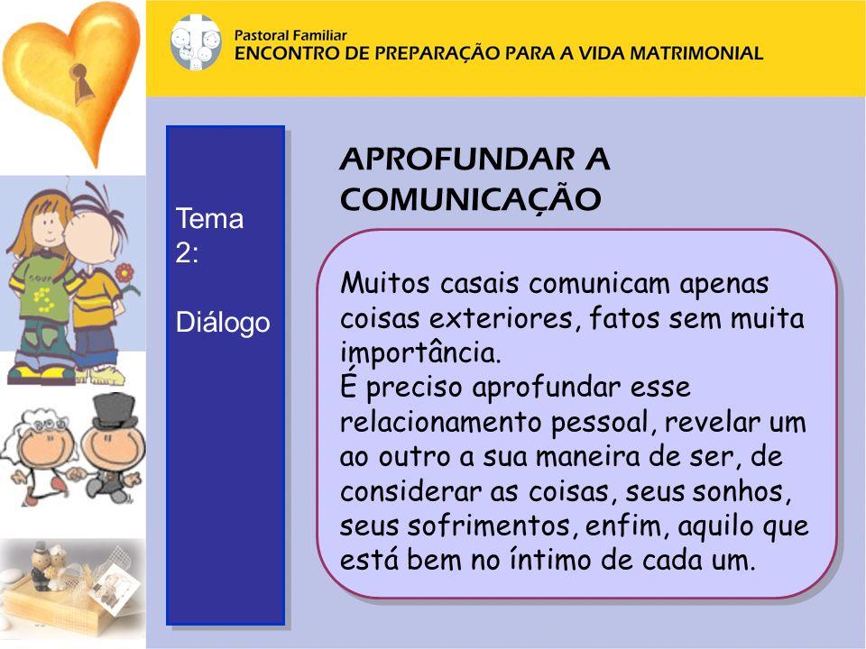 APROFUNDAR A COMUNICAÇÃO