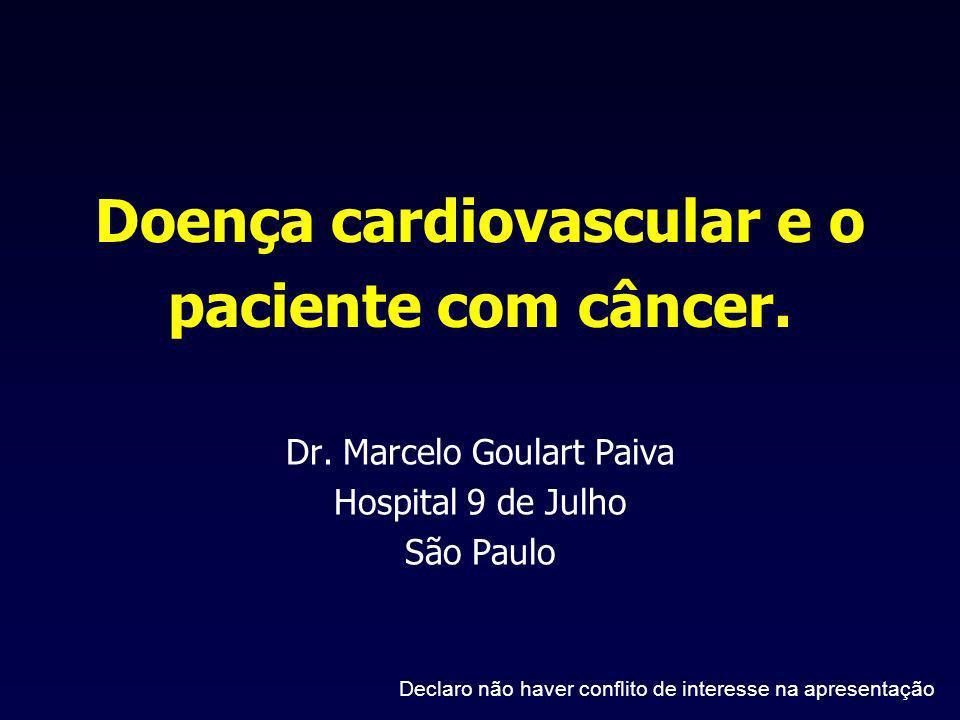 Doença cardiovascular e o paciente com câncer.