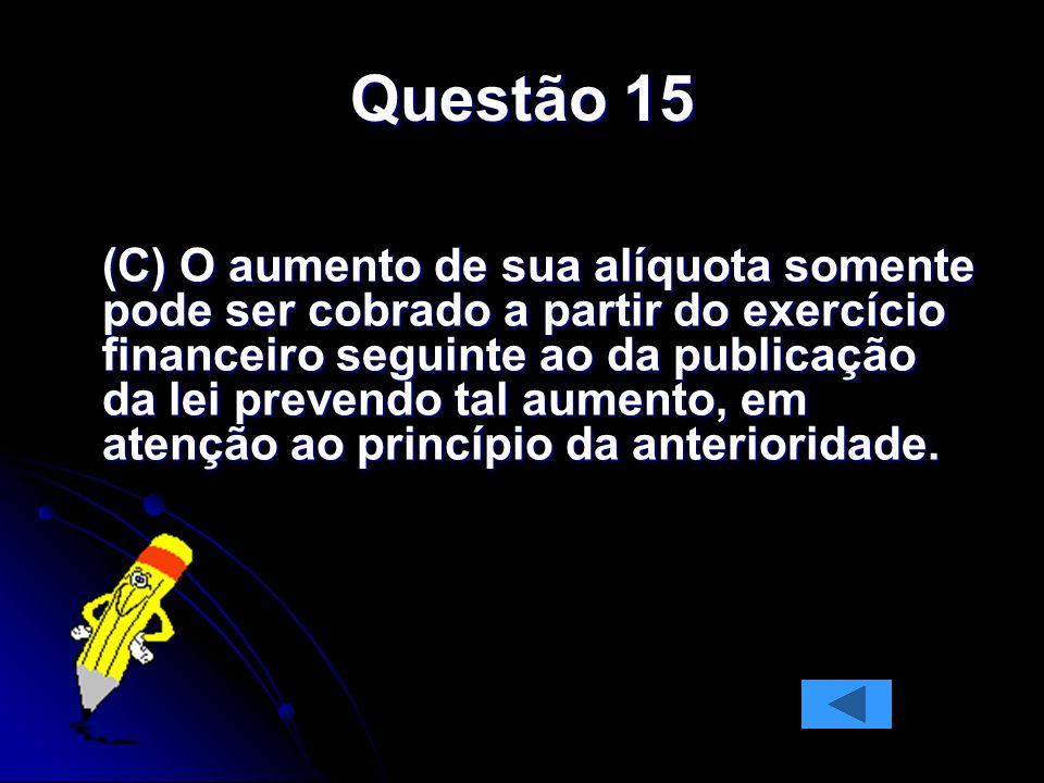Questão 15