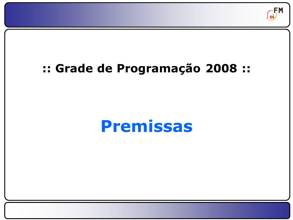 :: Grade de Programação 2008 ::