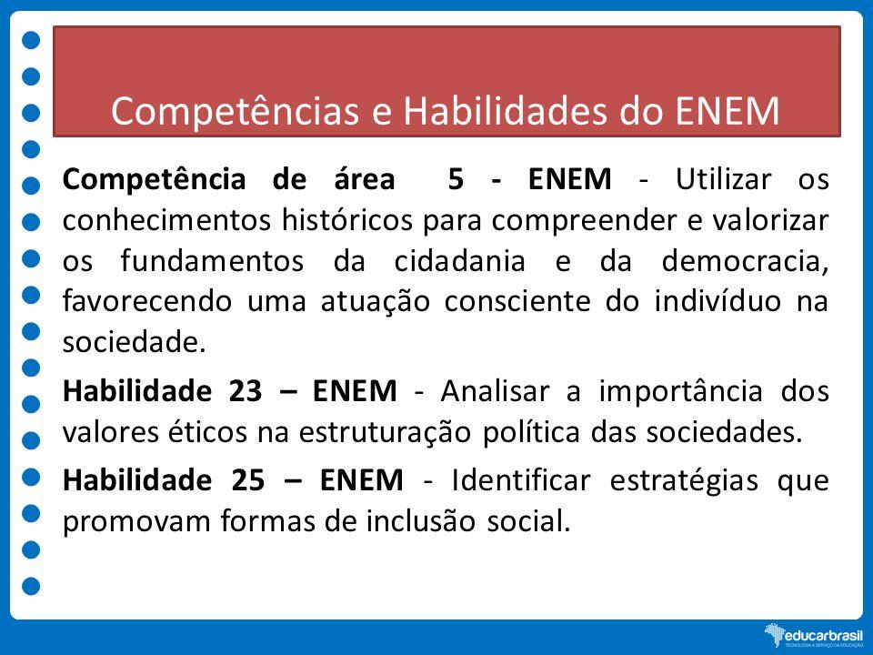 Competências e Habilidades do ENEM