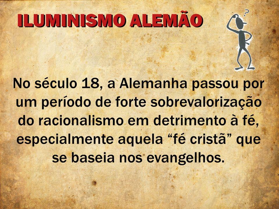 ILUMINISMO ALEMÃO