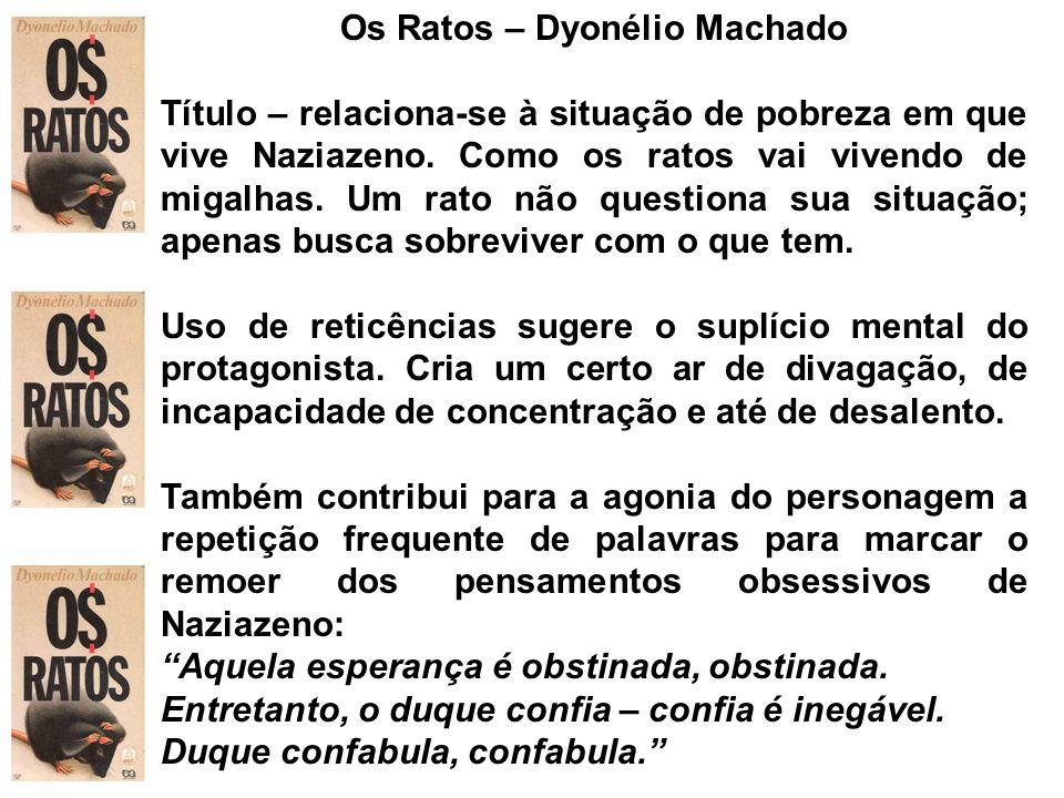 Os Ratos – Dyonélio Machado