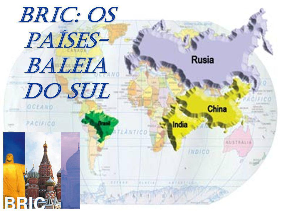 BRIC: OS PAÍSES-BALEIA DO SUL