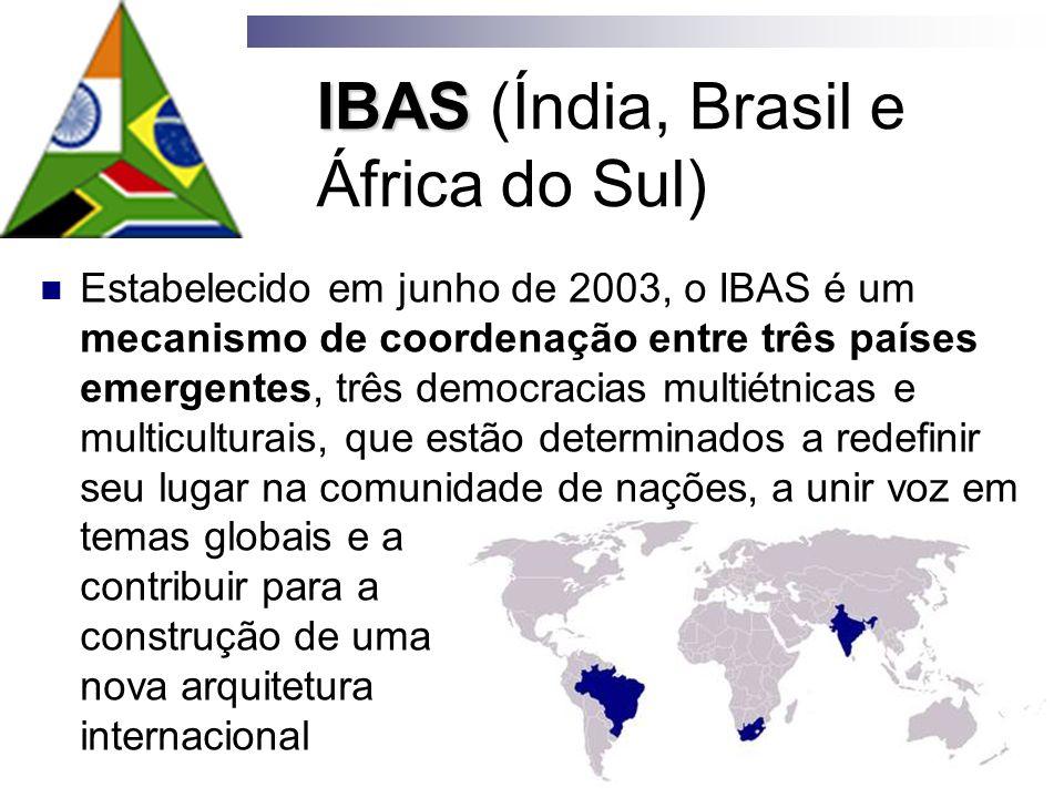 IBAS (Índia, Brasil e África do Sul)