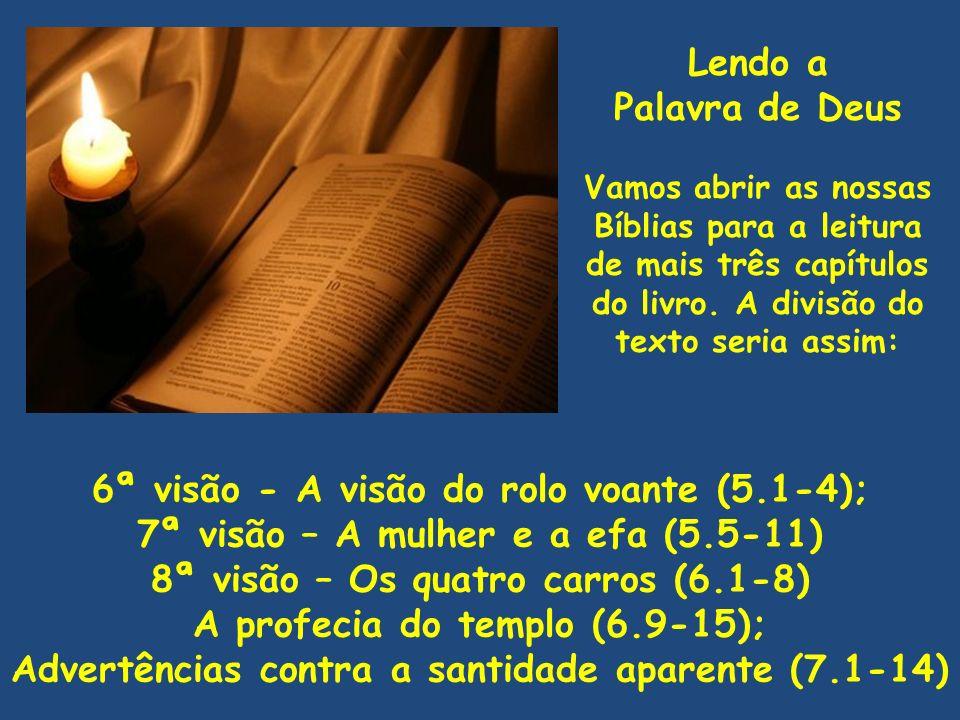 6ª visão - A visão do rolo voante (5.1-4);