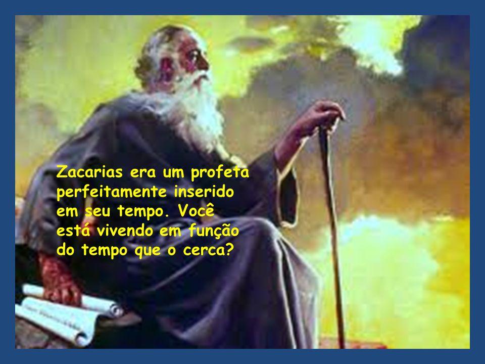 Zacarias era um profeta