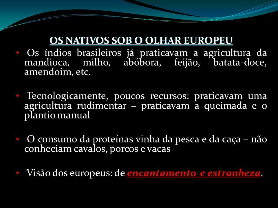 OS NATIVOS SOB O OLHAR EUROPEU