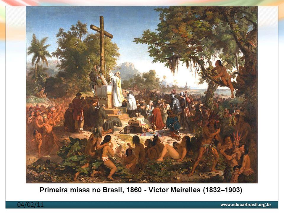 Primeira missa no Brasil, 1860 - Victor Meirelles (1832–1903)
