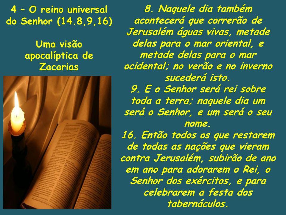 4 – O reino universal do Senhor (14.8,9,16)