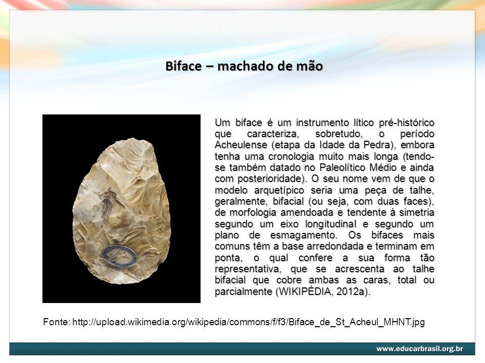Biface – machado de mão