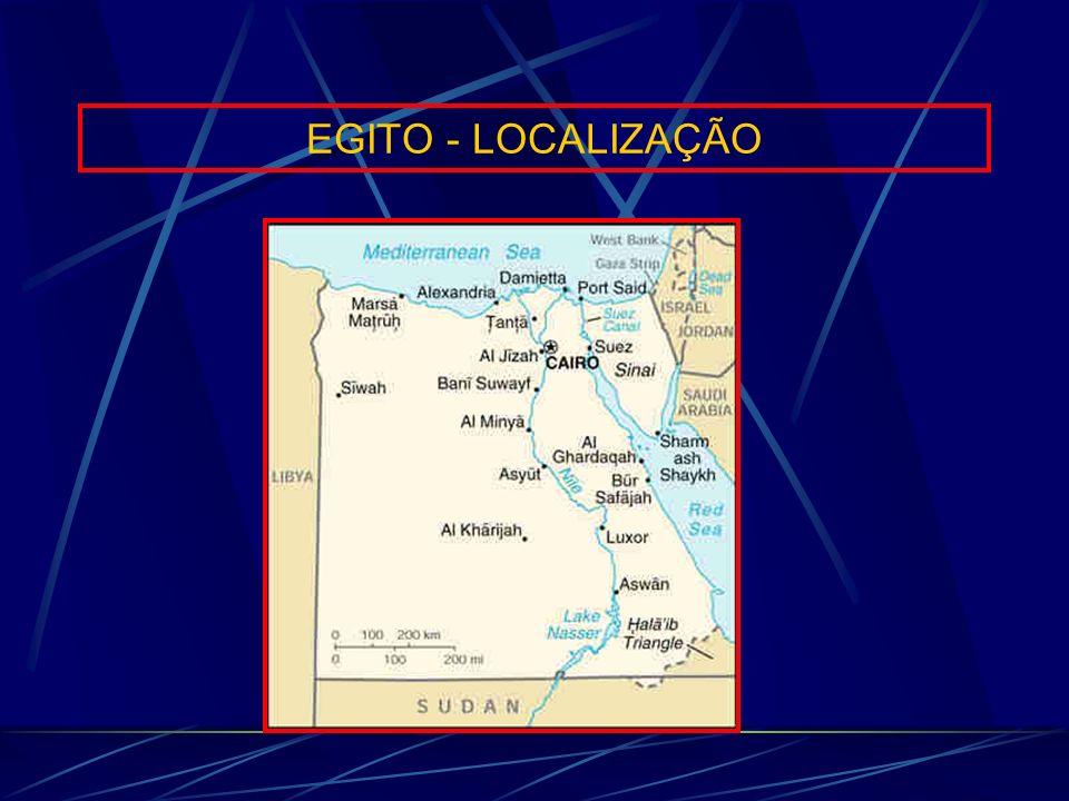 EGITO - LOCALIZAÇÃO