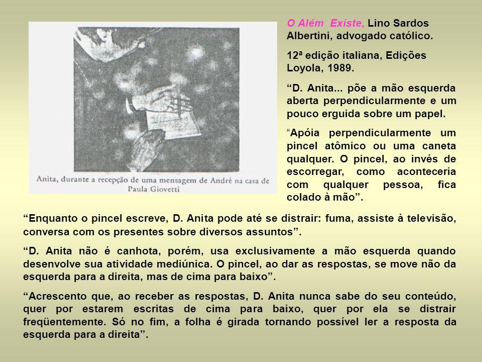 O Além Existe, Lino Sardos Albertini, advogado católico.