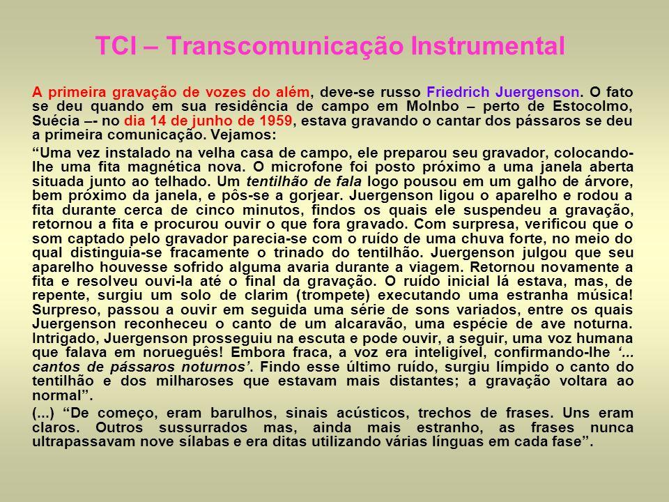 TCI – Transcomunicação Instrumental