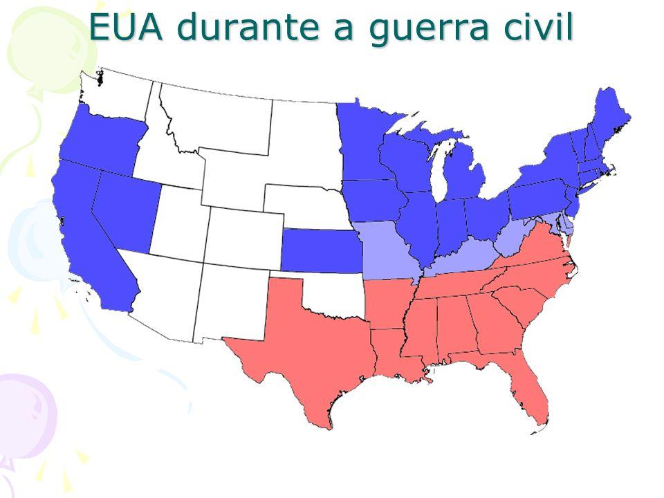 EUA durante a guerra civil