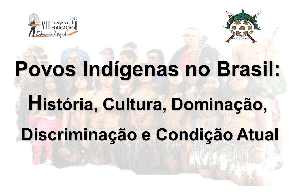 Povos Indígenas no Brasil: História, Cultura, Dominação,
