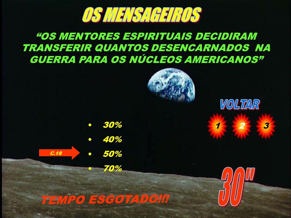OS MENSAGEIROS 30 TEMPO ESGOTADO!!!