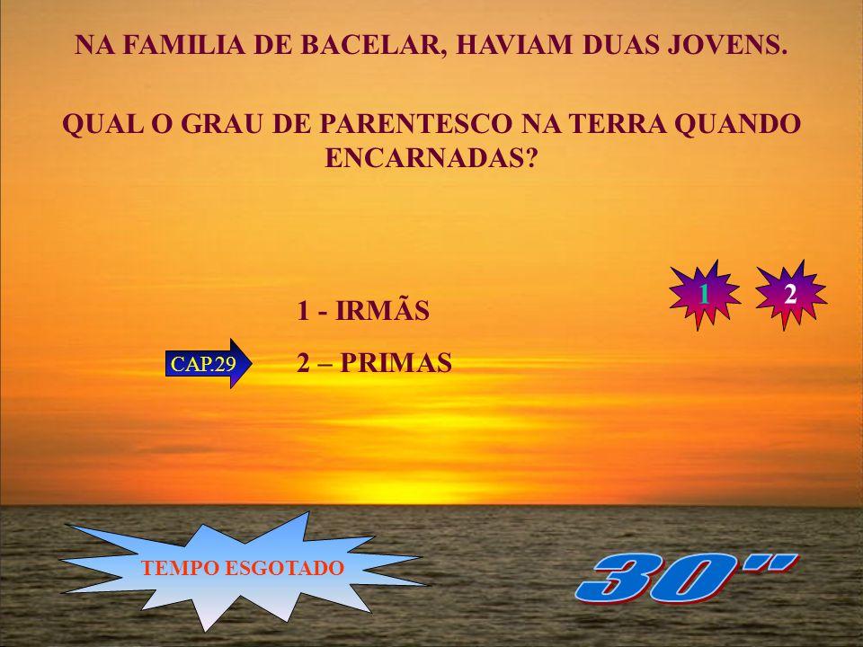 30 NA FAMILIA DE BACELAR, HAVIAM DUAS JOVENS.