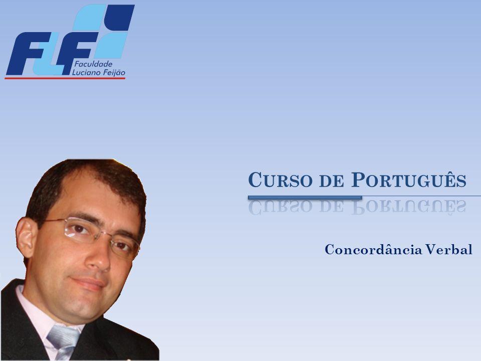 Curso de Português Concordância Verbal