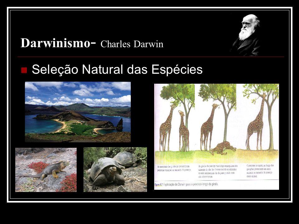 Darwinismo- Charles Darwin