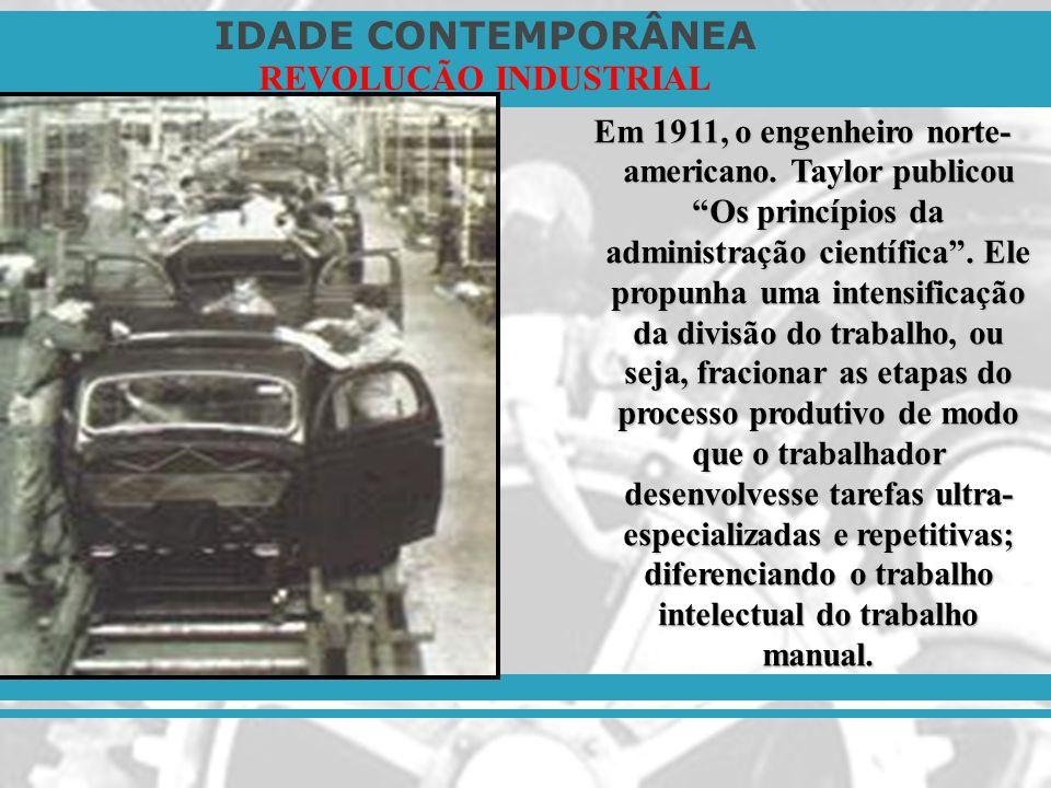 Em 1911, o engenheiro norte-americano