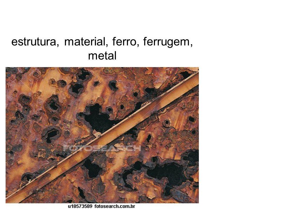 estrutura, material, ferro, ferrugem, metal