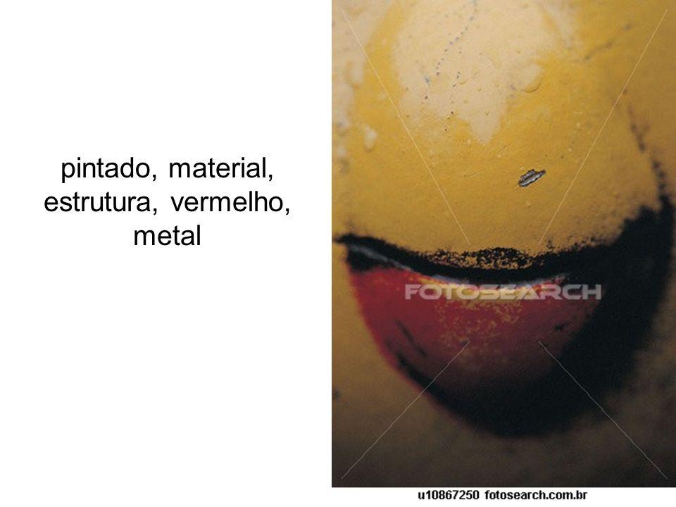 pintado, material, estrutura, vermelho, metal