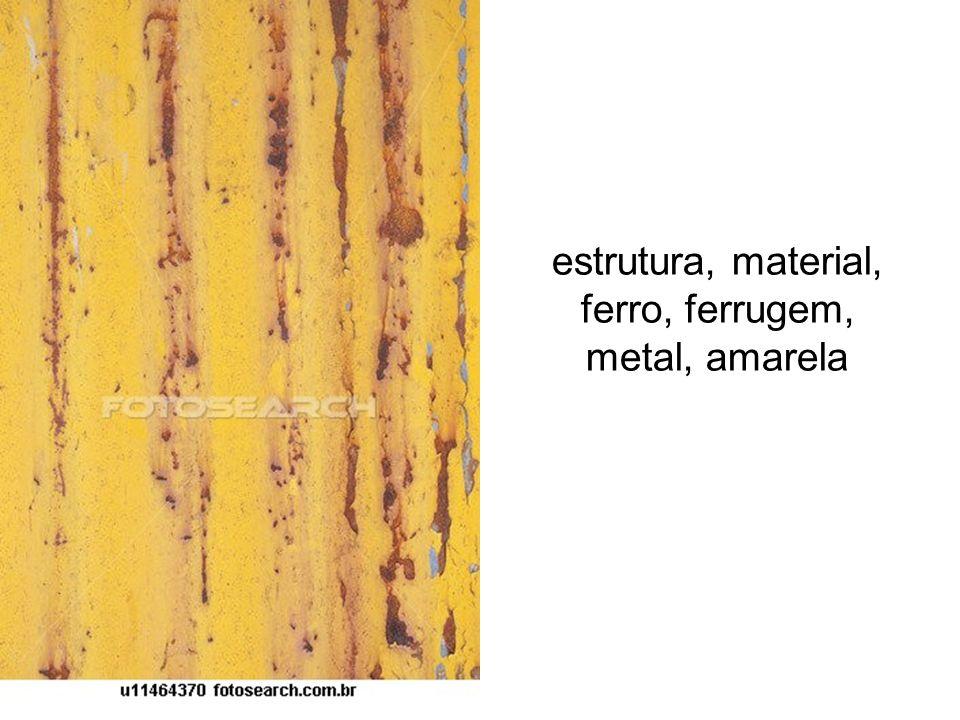 estrutura, material, ferro, ferrugem, metal, amarela