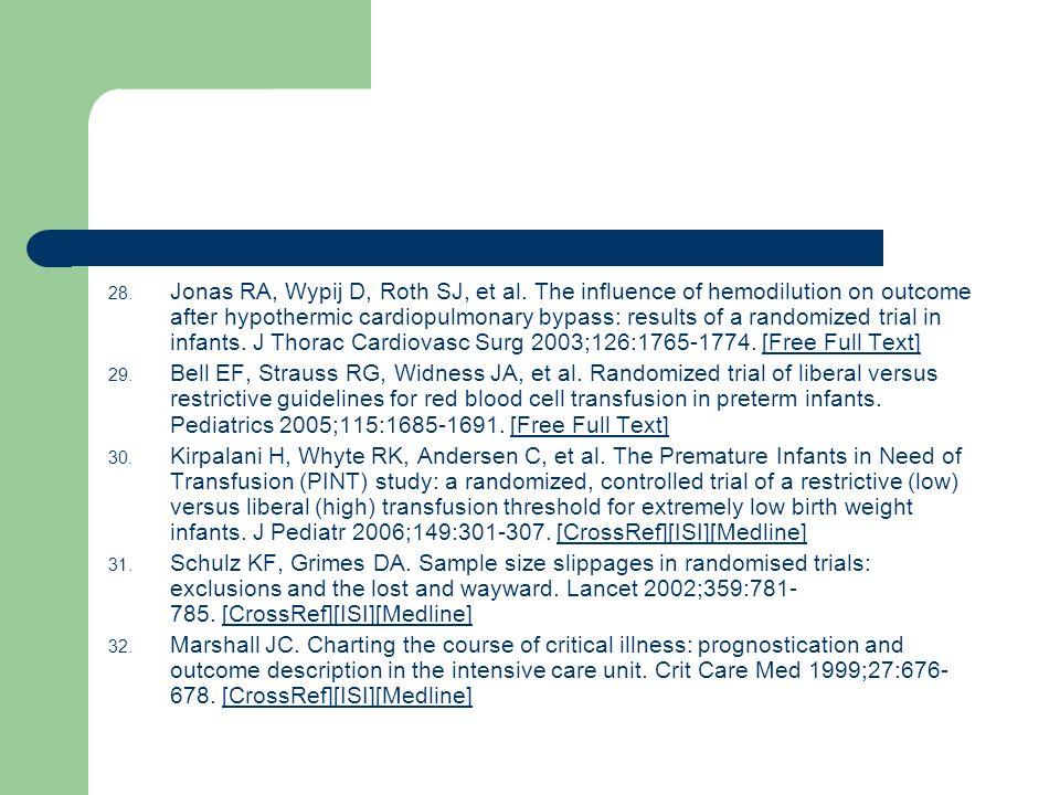Jonas RA, Wypij D, Roth SJ, et al