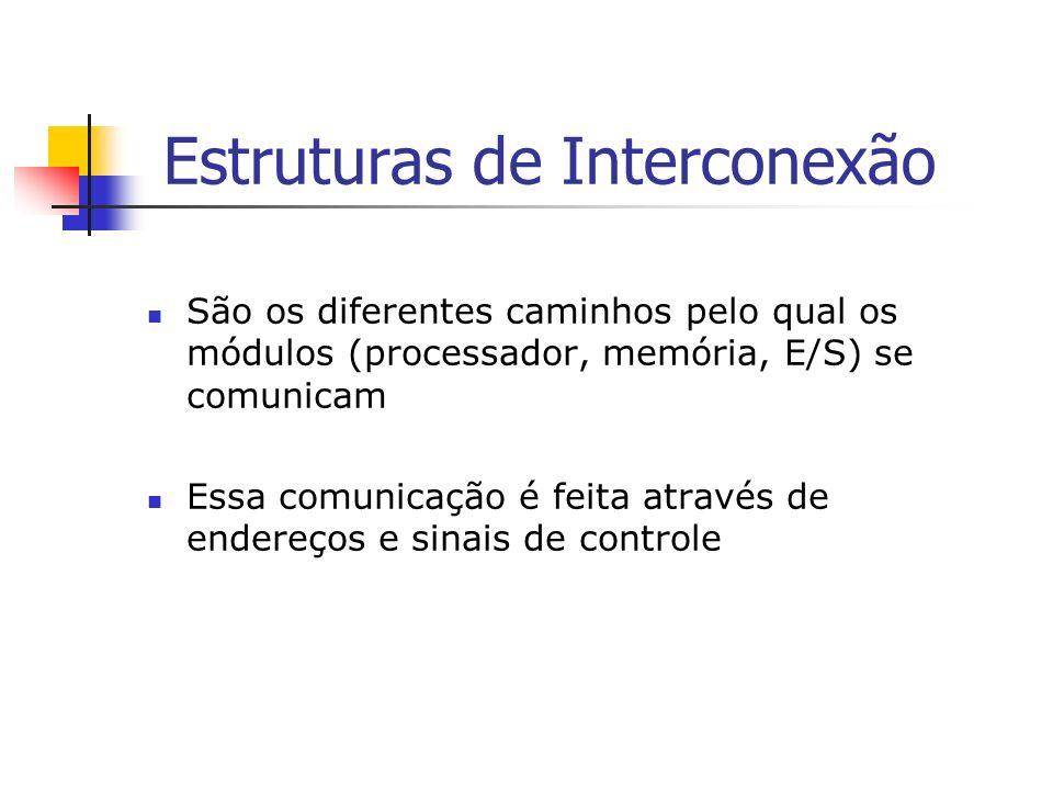 Estruturas de Interconexão