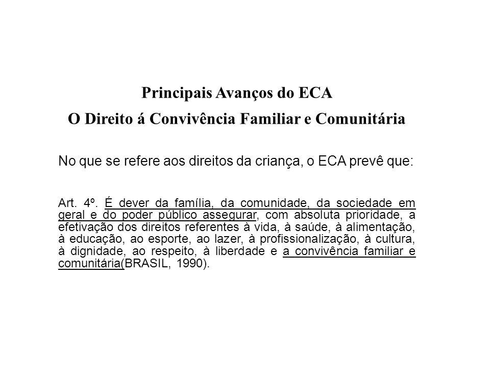 Principais Avanços do ECA