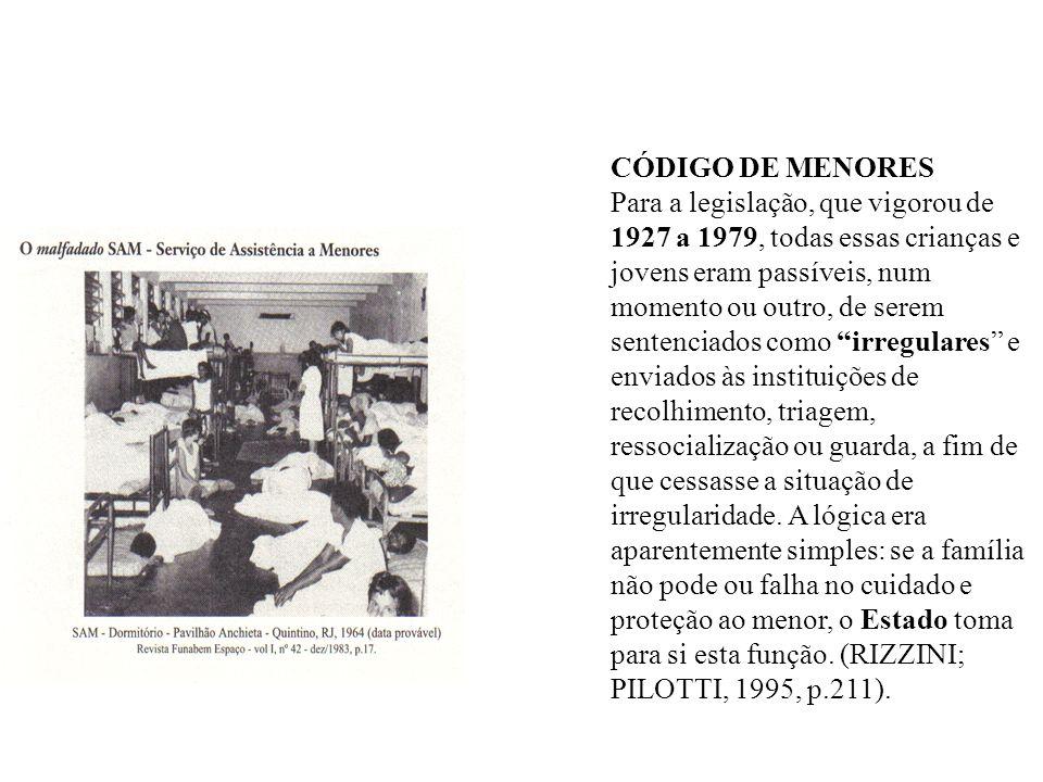 CÓDIGO DE MENORES