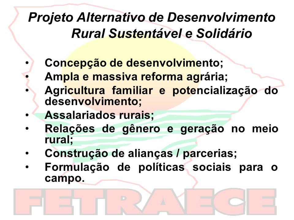 Projeto Alternativo de Desenvolvimento Rural Sustentável e Solidário