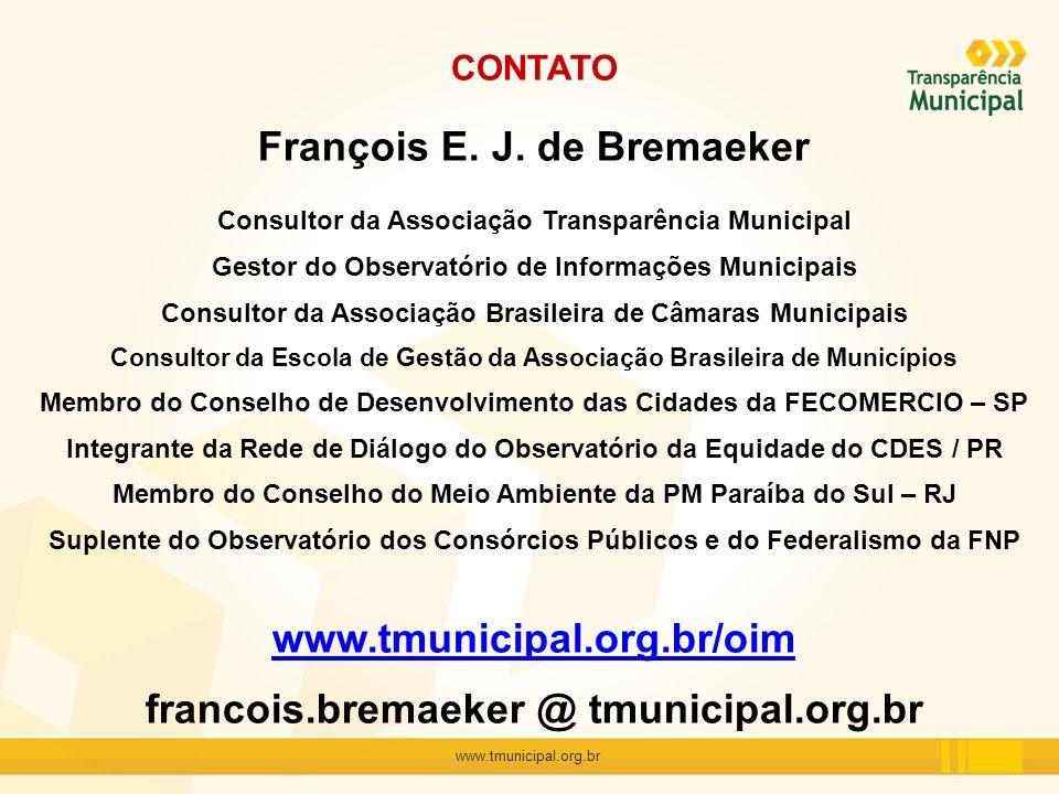François E. J. de Bremaeker
