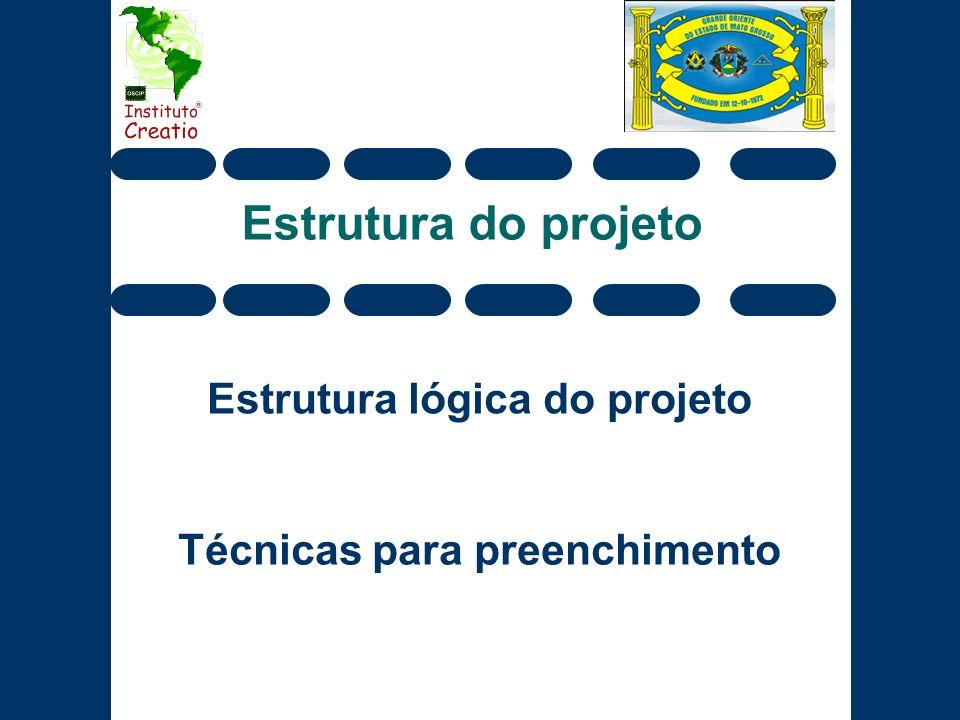 Estrutura lógica do projeto