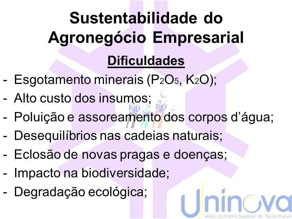 Sustentabilidade do Agronegócio Empresarial