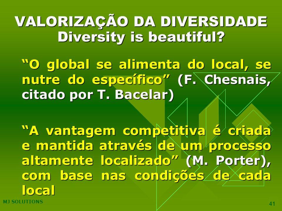VALORIZAÇÃO DA DIVERSIDADE Diversity is beautiful