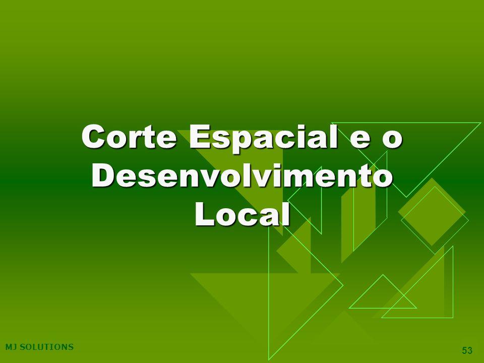 Corte Espacial e o Desenvolvimento Local