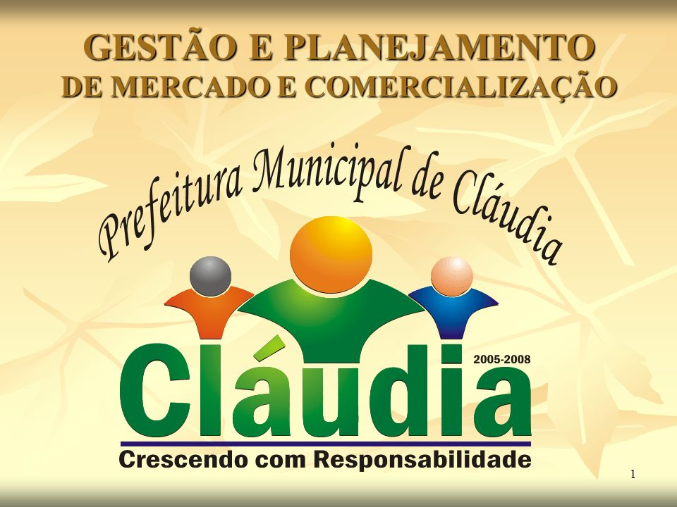 GESTÃO E PLANEJAMENTO DE MERCADO E COMERCIALIZAÇÃO