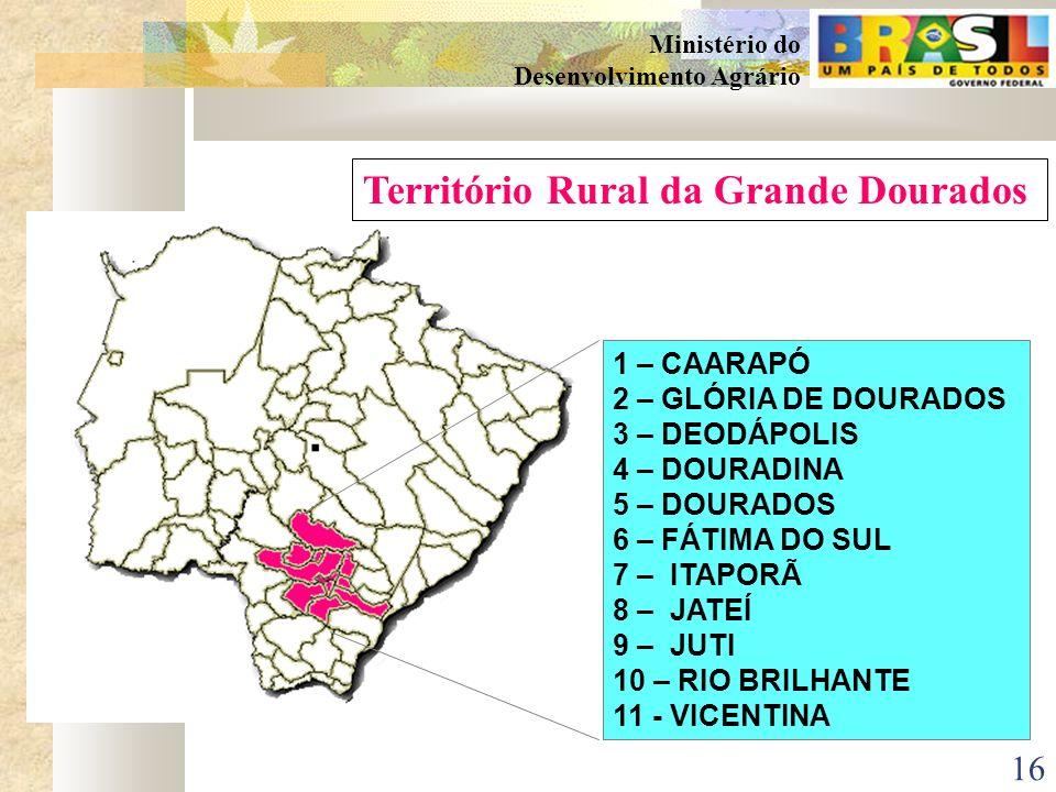 Território Rural da Grande Dourados
