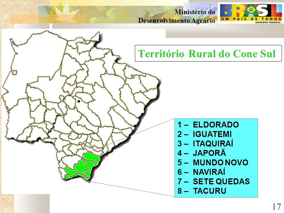 Território Rural do Cone Sul