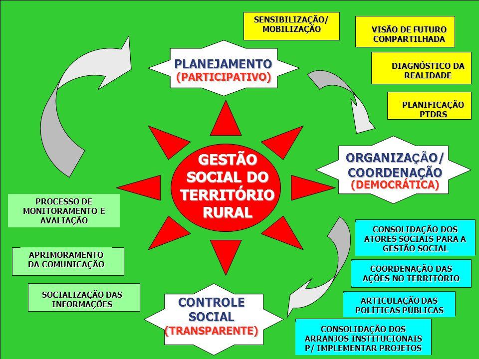 GESTÃO SOCIAL DO TERRITÓRIO RURAL