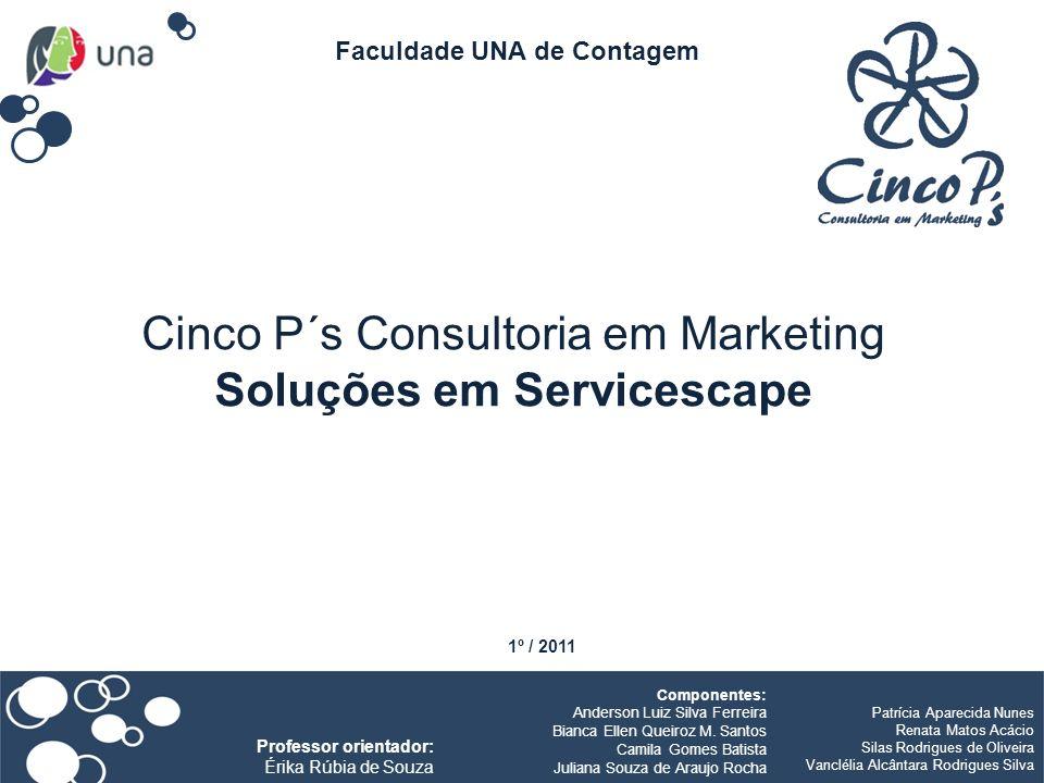 Cinco P´s Consultoria em Marketing Soluções em Servicescape