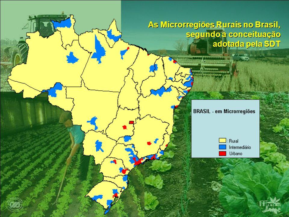 As Microrregiões Rurais no Brasil,