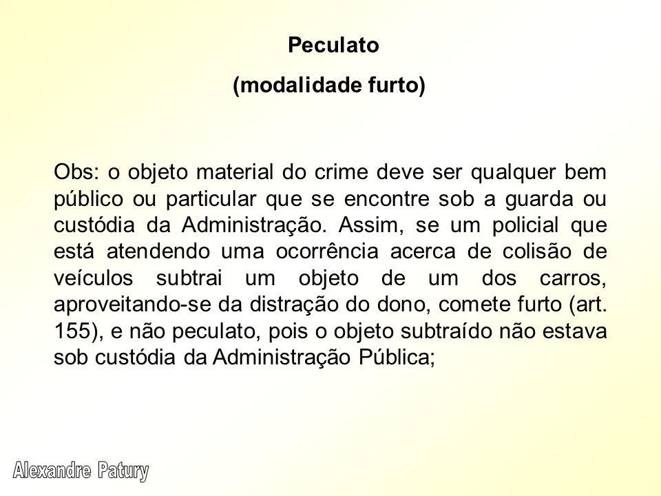 Peculato (modalidade furto)